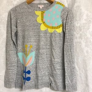 Cat & Jack Sweater Tunic Blooms XL (14-16) Floral